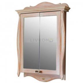 Зеркальный шкафик Olvio (Atoll) Riviera apricot (персик)