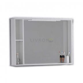 Зеркало Fancy Marble с LED подсветкой ШЗ-980 белый