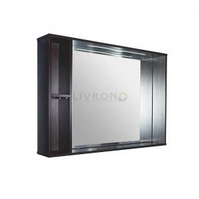Зеркало Fancy Marble с LED подсветкой ШЗ-980 венге