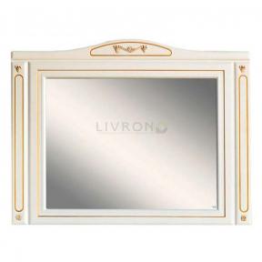 Зеркало на основе Olvio (Atoll) Verona 120 Dorato (золото)
