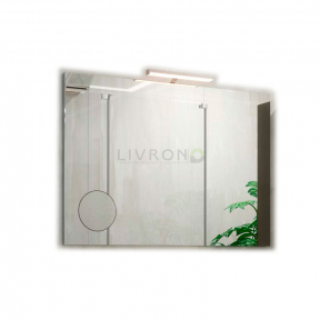 Зеркало на основе со светильником Marsan Modeste 800х700