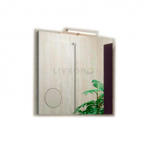 Зеркало на основе со светильником Marsan Modeste 900х600