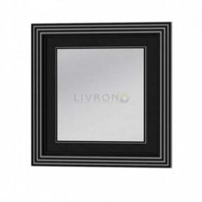Зеркало на основе Botticelli TREVISO ТM-80 черный серебро