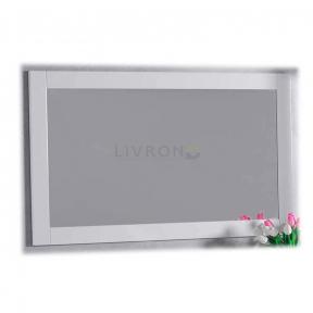 Зеркало в рамке Fancy Marble ЗР-1 белое 1200