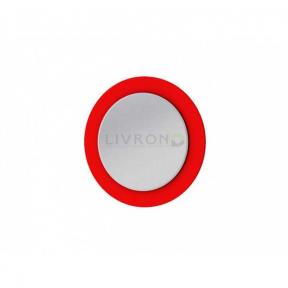 Зеркало на основе Botticelli Vanessa VnM-80 красное